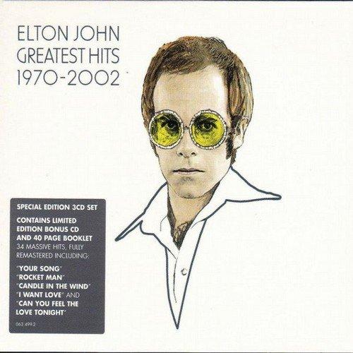 Elton John - Greatest Hits 1970-2002 (3CD Special Edition) (2002) CD-Rip