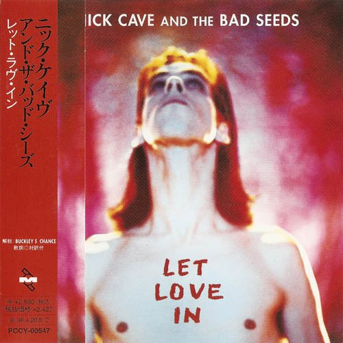 Nick Cave - Let Love In (Japan, 1994)