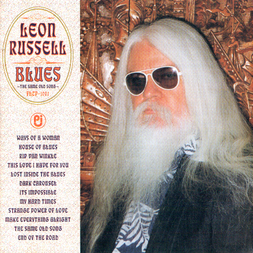Leon Russell - Blues: Same Old Song by Leon Russell  (Japan, 1997)