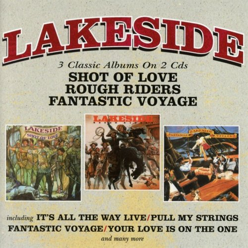 Lakeside - Shot Of Love / Rough Riders / Fantastic Voyage (2018)