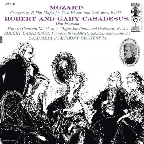 George Szell, Robert Casadesus - Mozart: Piano Concertos Nos. 10 & 12 (Remastered) (2018) [Hi-Res]