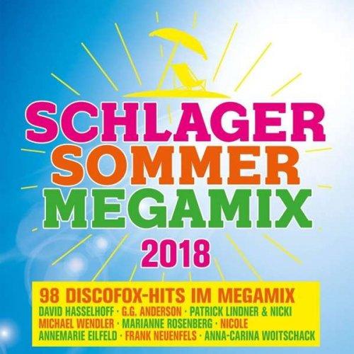 VA - Schlager Sommer Megamix 2018 (2018)