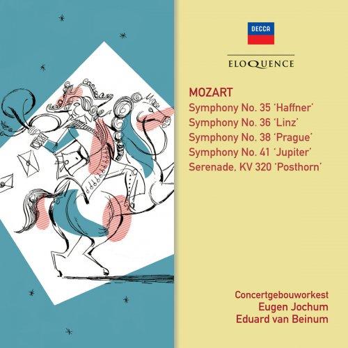 Eduard van Beinum & Eugen Jochum & Royal Concertgebouw Orchestra - Mozart: Symphonies 35, 41, 36, 38; Posthorn Serenade (2018)