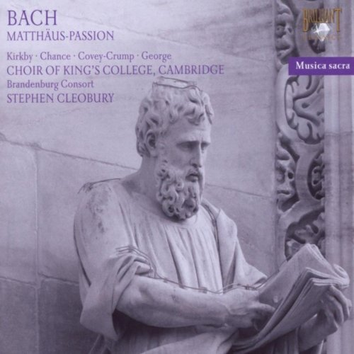 King's College Choir & Stephen Cleobury - J.S. Bach: Matthaus Passion (2018)