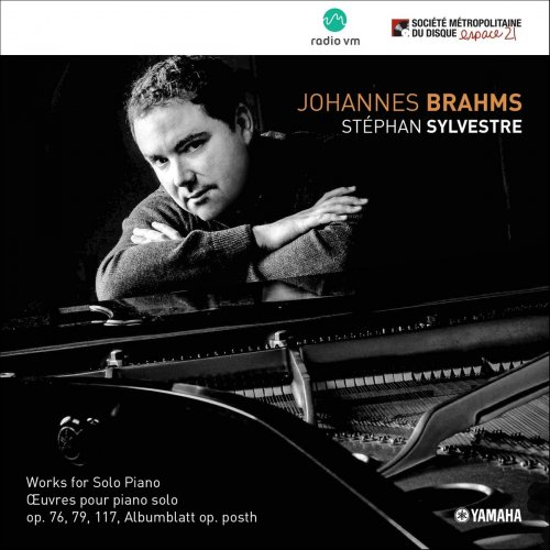 Stéphan Sylvestre - Johannes Brahms: Works for Solo Piano (2018)