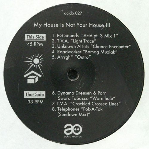 VA - My House Is Not Your House III (2018)