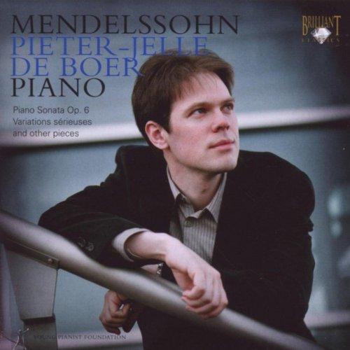 Pieter-Jelle de Boer - Mendelssohn: Pieter-Jelle de Boer (2018)