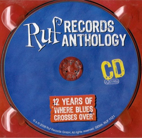 VA - Ruf Records Antology: 12 Years Of Where Blues Crosses Over (2006) CD/DVD