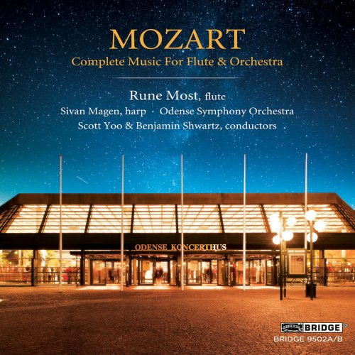 Rune Most, Odense Symphony Orchestra - Mozart: Complete Music for Flute & Orchestra (2018)