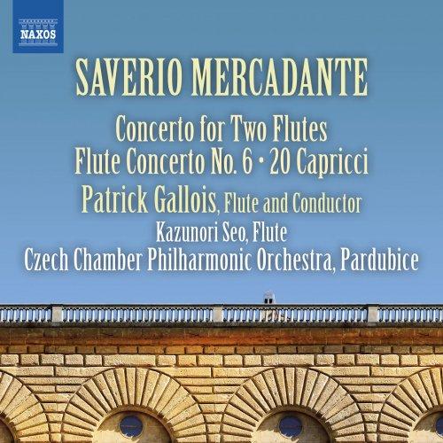 Czech Chamber Philharmonic Orchestra Pardubice & Patrick Gallois - Mercadante: Flute Concertos, Vol. 2 (2018)