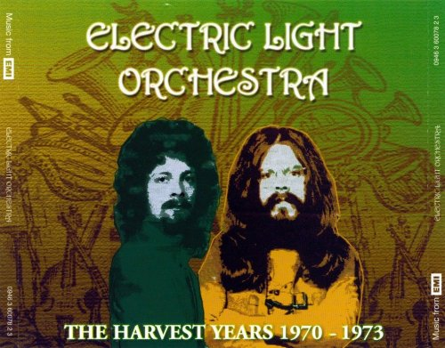 Electric Light Orchestra - The Harvest Years 1970-1973 (2006) {3CD Box Set, Remastered Reissue}