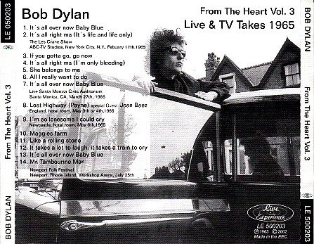 Bob Dylan - From The Heart Vol.3 (2002)
