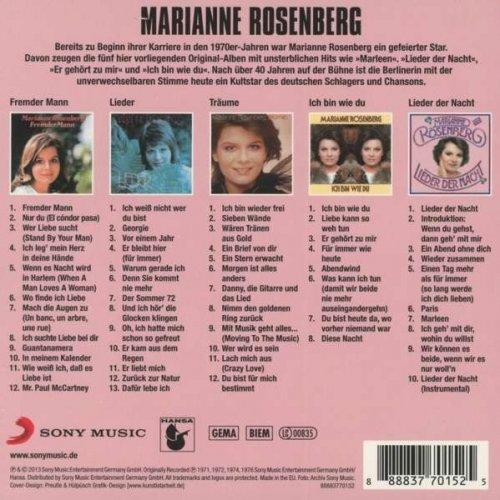 Marianne Rosenberg - Original Album Classics 1971-1976 (5 CDs) (2013)